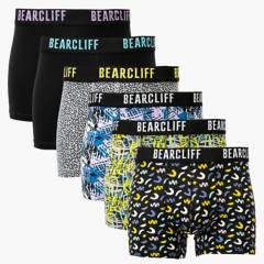 Bearcliff - Pack 6 Boxers Algodón Hombre