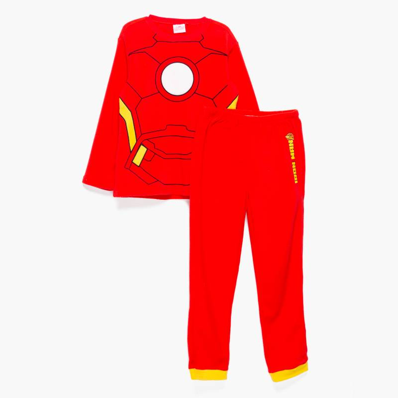 AVENGERS - Pijamas largo 2 piezas Polar Avengers Niño