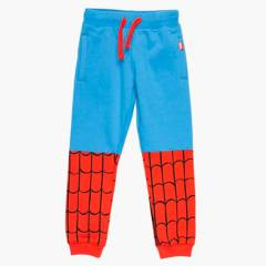 SPIDER-MAN - Pantalón de buzo Spiderman Algodón Niño