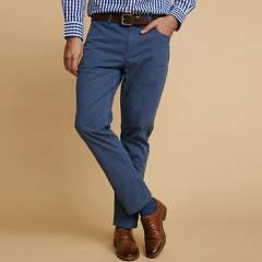 LA MARTINA - Pantalon 5 bolsillos de Algodón Texturado Hombre