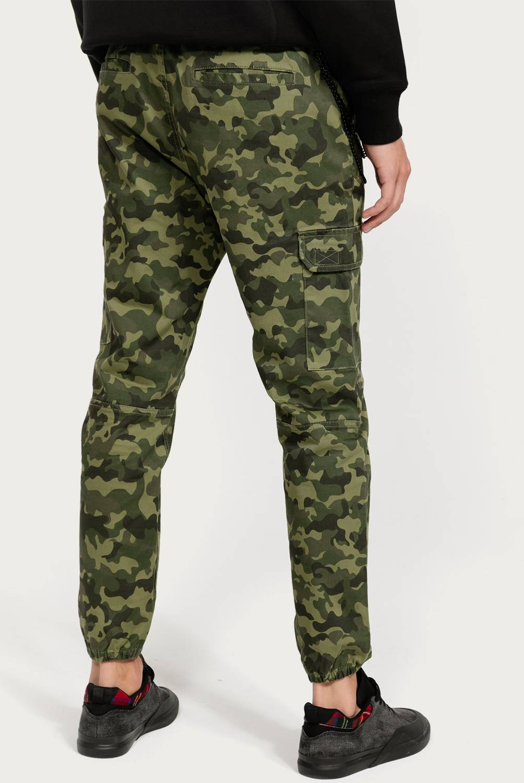 BEARCLIFF - Pantalón Regular Fit Hombre