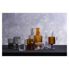 BASEMENT HOME - Vaso Corto Estriada Cinnamon 400 ml