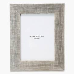 MICA - Marco de Foto 27 x 22 cm Plateado
