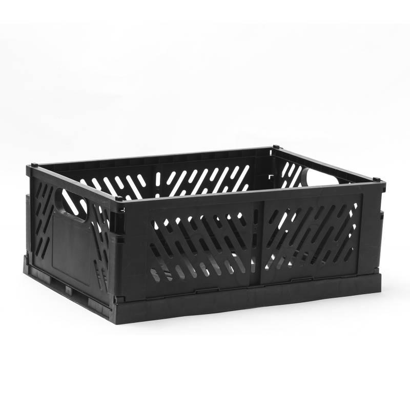 MICA - Caja Plegable 43 cm Negro