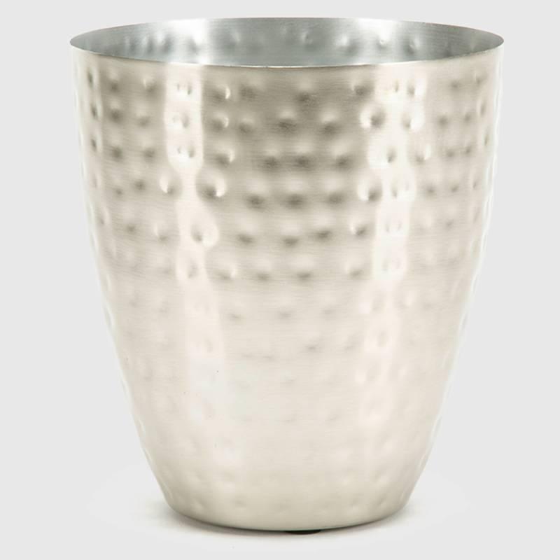 BASEMENT HOME - Adorno Pot Aluminio Silver 15x12 cm