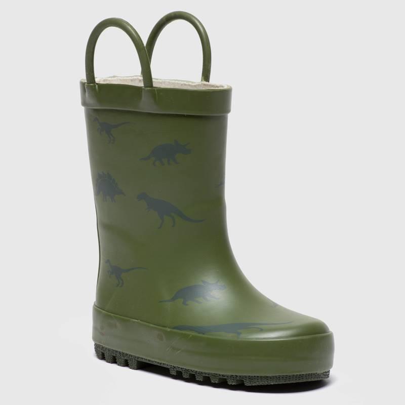 YAMP - Bota De Lluvia Niño Verde