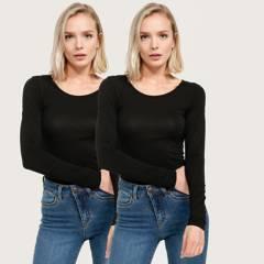UNIVERSITY CLUB - Pack 2 Camisetas modeladoras