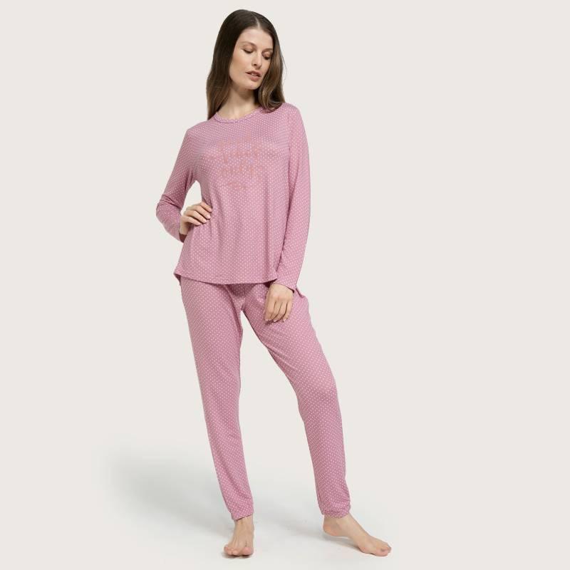 UNIVERSITY CLUB - Pijama mujer tejido