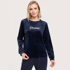 UNIVERSITY CLUB - Polera de pijama mujer