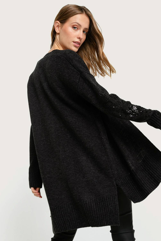 BASEMENT - Chaleco bordado mujer