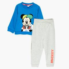 STD CHARACTERS - Set 2 Piezas Pantalon Más Poleron Mickey Bebé Niño