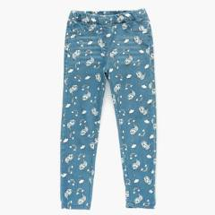 YAMP - Jeans cintura elásticada Algodón Niña