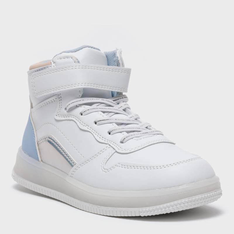 YAMP - Zapatilla Niña Luces Blanca