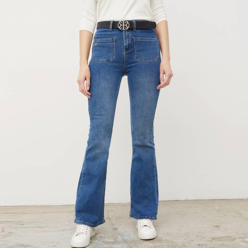 APOLOGY - Jeans Grace Flare Colección Cecilia Bolocco
