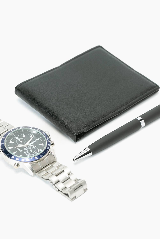MOSSIMO - Set Reloj + Billetera + Lápiz hombre