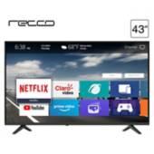 "RECCO - LED  43"" RLED-43N1800FHD Full HD Smart TV"