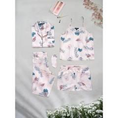DAHLA - Set de pijama mujer+antifaz