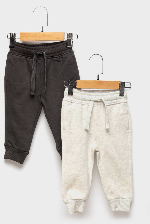 YAMP - Pantalón De Buzo Pack De 2 Unidades Algodón Bebé Niño
