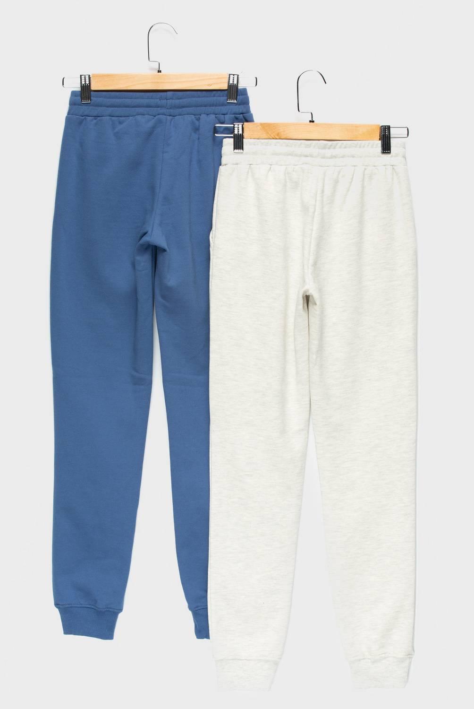 ELEVEN - Pantalón De Buzo Jogger Pack De 2 Unidades Algodón Niña