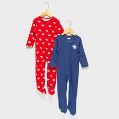 YAMP - Pijama Pack De 2 Unidades Algodón Bebé Niño