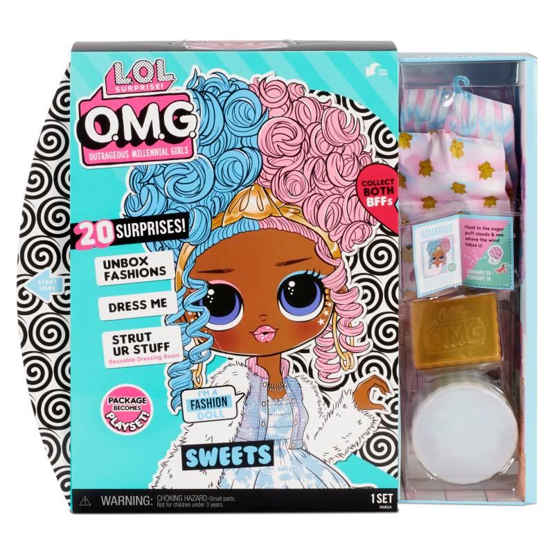 LOL - Muñeca LOL Surprise Omg Doll 4-Sweets