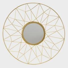 MICA - Espejo Pared Círculos Gold