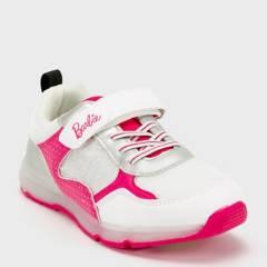 BARBIE - Barbie Zapatilla Niña Luces Blanca