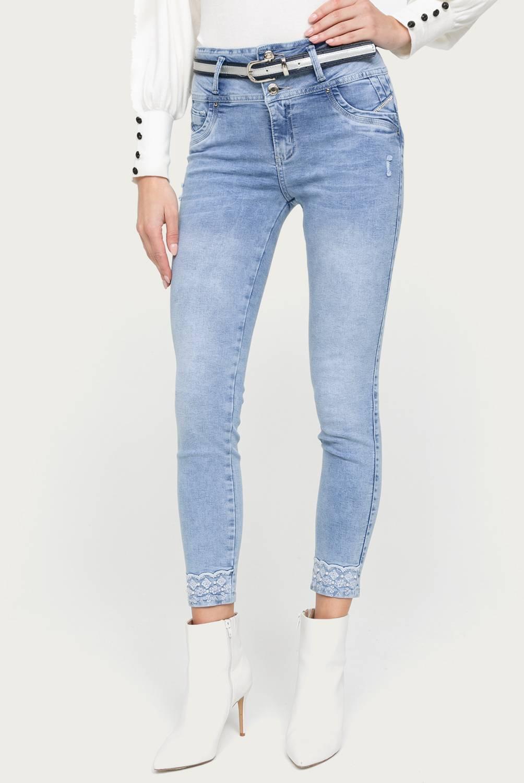 MOSSIMO - Jeans skinny tiro alto mujer
