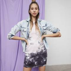 SYBILLA - Chaqueta de Jeans Mujer