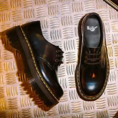 DR MARTENS - Zapato Casual Mujer Cuero Negro