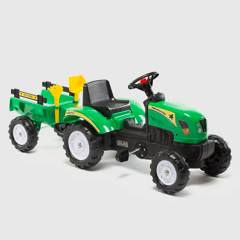SCOOP - Tractor A Pedales Con Remolque