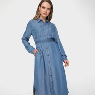 ELLE - Vestido Largo Mujer
