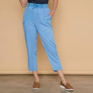 NEWPORT - Pantalón Slouchy Tiro Medio Mujer