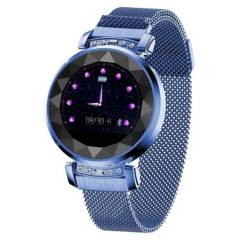 COMPRAPO - Reloj Smartwatch Sl08 Azul para Mujer