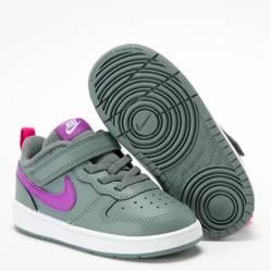 Nike - Court Borough Low 2 Zapatilla Urbana Niño