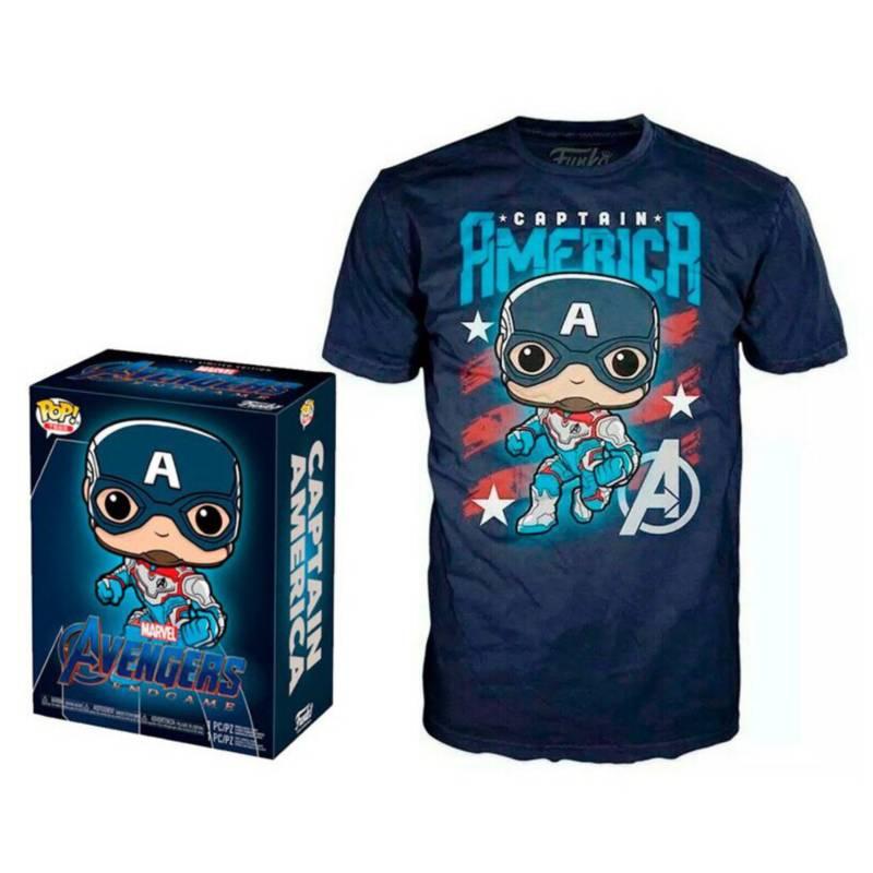 FUNKO - Pack Funko Pop! Avengers Endgame Captain America