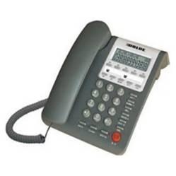 Dblue - Teléfono Sobremesa con Visor Gris / K