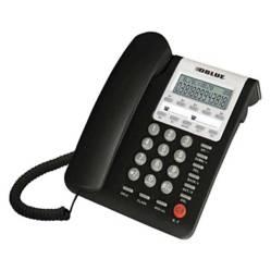 Dblue - Teléfono Sobremesa con Visor Negro / K