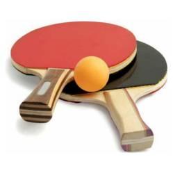 Dblue - Kit 2 Paletas De Ping Pong  4 Pelotas / K