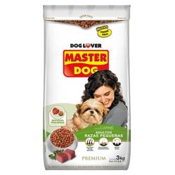 MASTER DOG - Perro Adulto Razas Pequeñas 3 kg