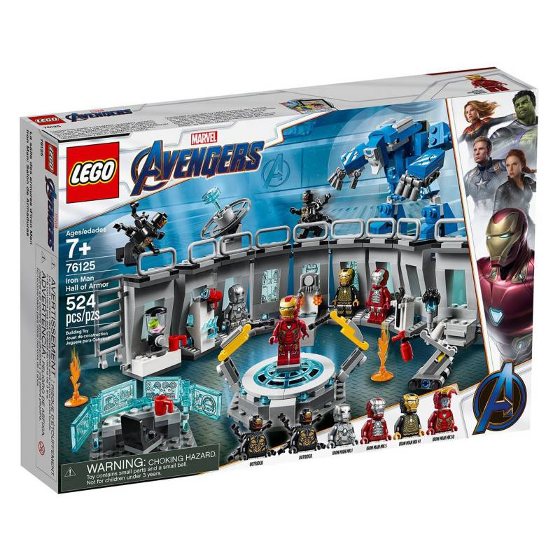 Lego - Lego Super Heroes - Iron Man Hall Of Armour
