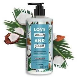 LOVE BEAUTY AND PLANET - Loción Corporal Coconut Water & Mimosa Flower 400 Ml