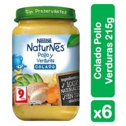 Colados Nestlé Naturnes Pollo Verduras215G X6