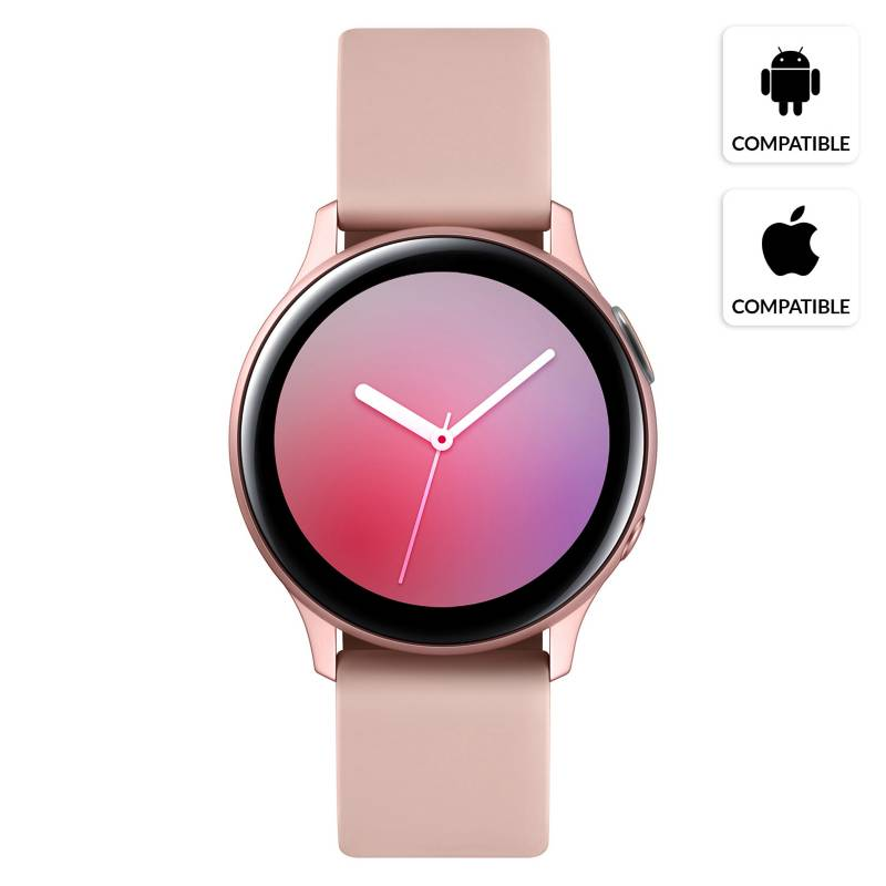 SAMSUNG - Galaxy Watch Active 2 40mm Rose Gold