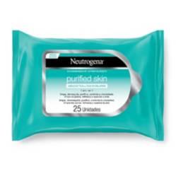 Neutrogena - Toallas Desmaquillantes Purified Micelares 25 Unidades