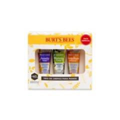 BURTS BEES - Kit Trío de Crema para Manos