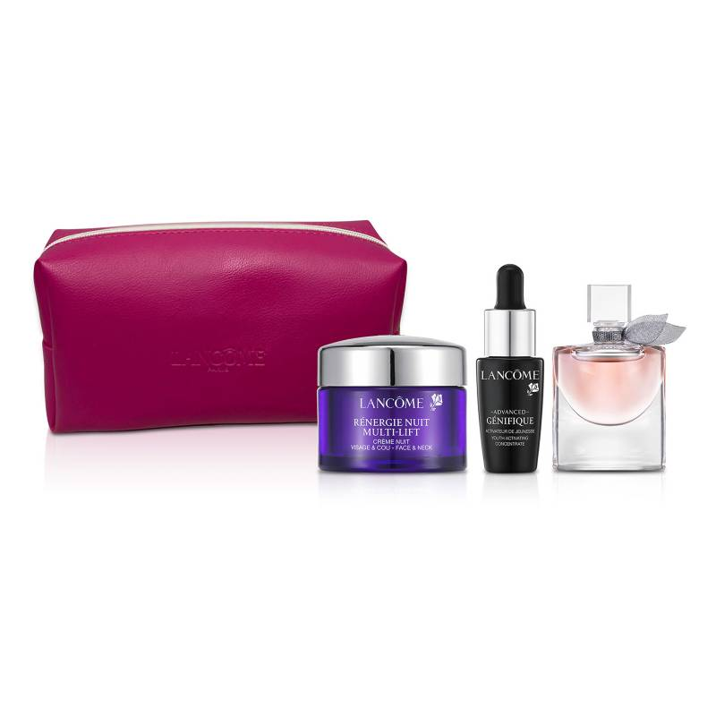 Lancome - Set Imperdibles Belleza Lancome + Cosmetiquero