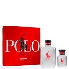 RALPH LAUREN - Set Perfume Hombre Red Rush 125ml + 40 ml