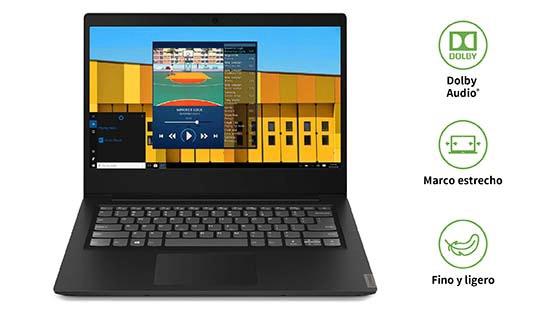 Lenovo Ideapad S145 negro atributos