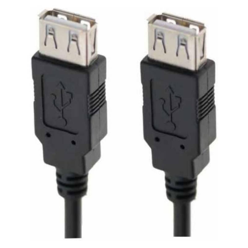 Cable Extensión Usb Hembra Hembra 1.5M / K